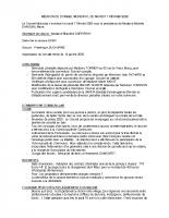 RÉUNION DU CONSEIL MUNICIPAL DU MARDI 11 FEVRIER