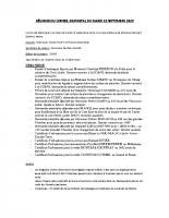 2020_09 RÉUNION DU CONSEIL MUNICIPAL DU MARDI 15 SEPTEMBRE 2020