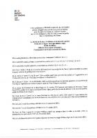 Arrêté Préfectoral Port du masque 28122020